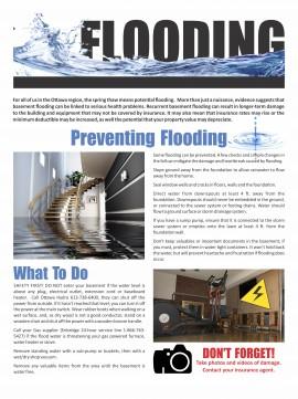 Flood Flyer