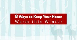 8 Ways to keep Your Home Warm – header