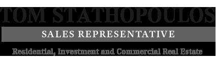 Tom Stathopoulos, B.A.  Sales Representative